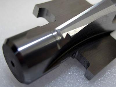 パイプの面取り+座面加工用工具