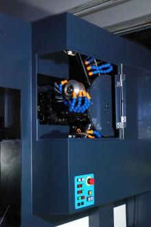 砥石・研削液ノズル交換装置 AWC6-高精密CNC工具研削盤AGE30